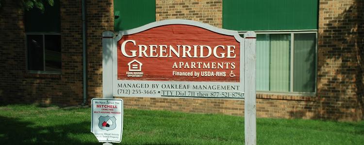 Greenridge Sign